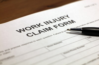 image of workers comp claim form